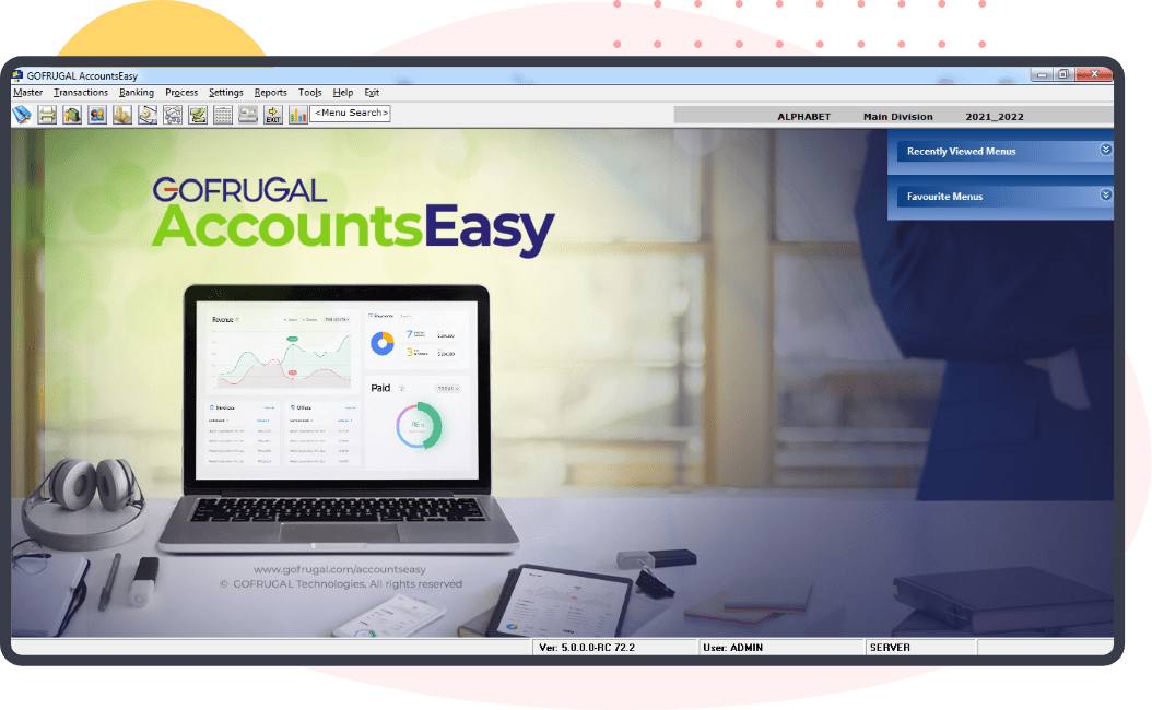 Gofrugal - Financial accounting