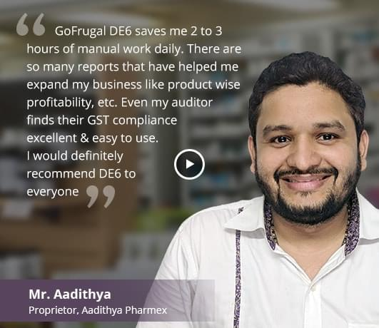 Distributor software happy customer - Aadithya Pharmex
