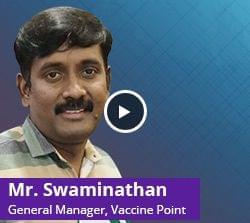 Distributor software happy customer - Vaccine Point