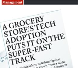 Departmental store software customer article in media