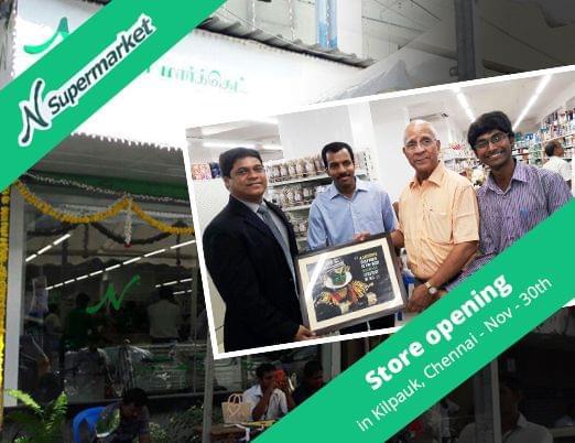 NSupermarket Store Opening - Kilpauk, Chennai