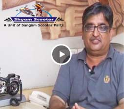 Auto parts customer video