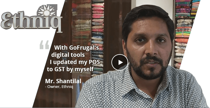 GOFRUGAL GST help chat