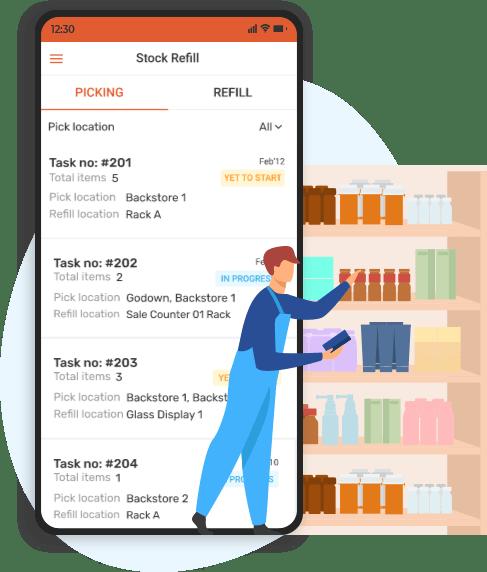 stockrefill mobile app