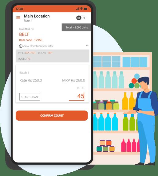 stocktake mobile app