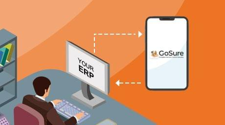 Easy integration with your ERP for easy stock counting
