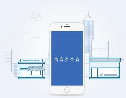 Feedback app - multiple chain stores