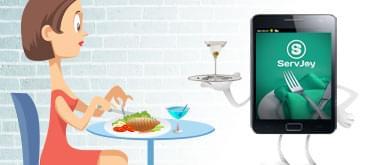 Restaurant Mobile App - Kitchen order taking
