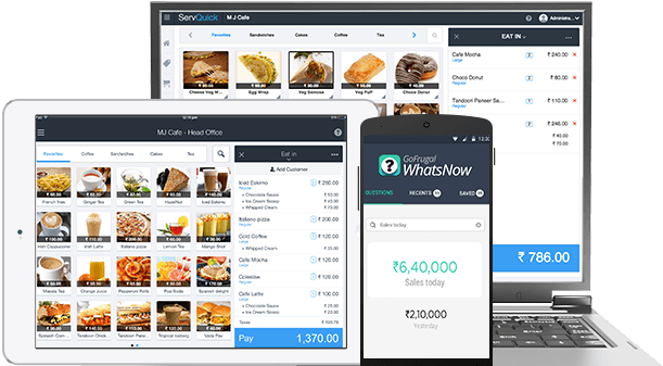 Online Cloud Pos For Food Truck Quick Service Restaurants