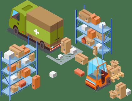 Pharma chain distributon solution