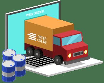 Online order distributors