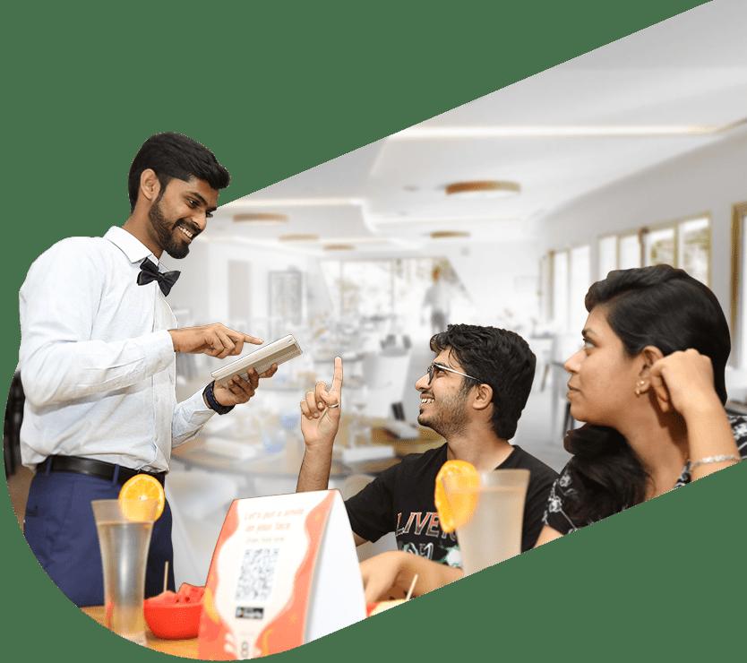 restaurant waiter app