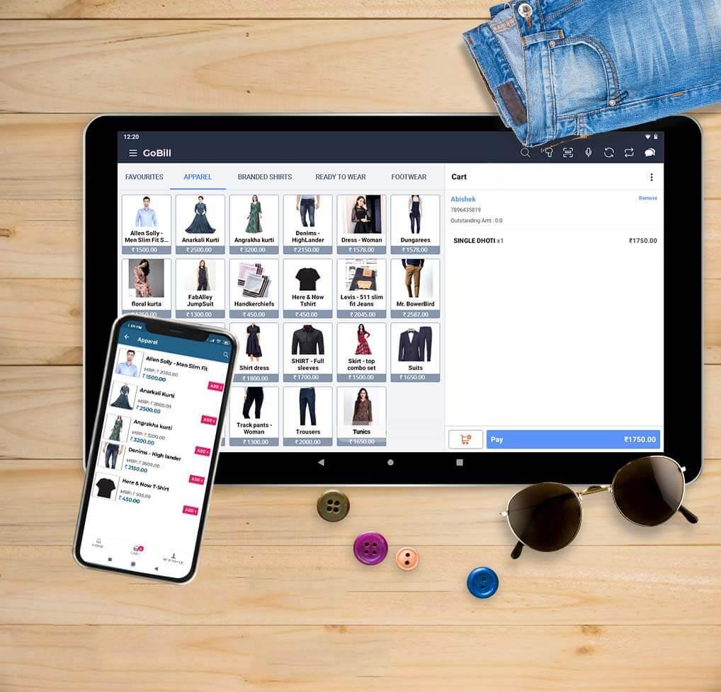 Apparel Retail POS Software