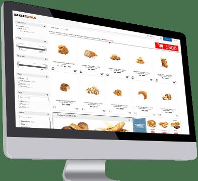 E commerce integration for bakery shops