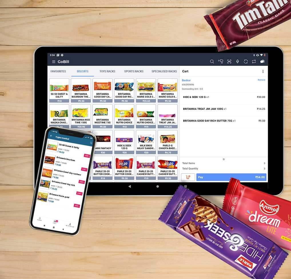 Hypermarket Retail POS Software