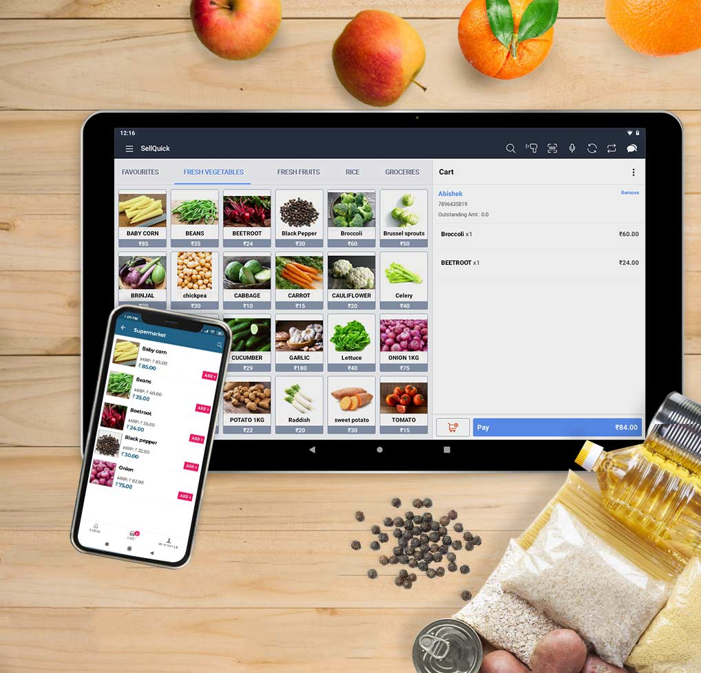 Supermarket Retail POS Software