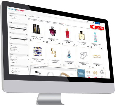 E commerce integration for optical store
