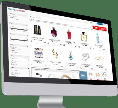 E commerce integration for optical store