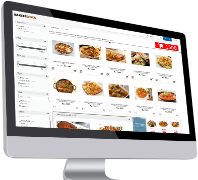 E commerce integration for restaurants
