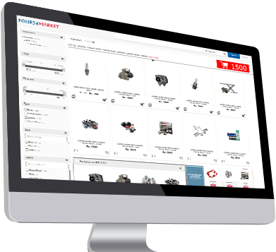E commerce integration for auto parts shop