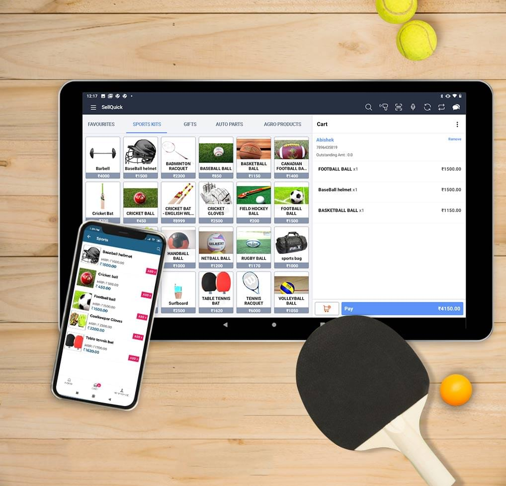 Sports Shop Retail POS Software